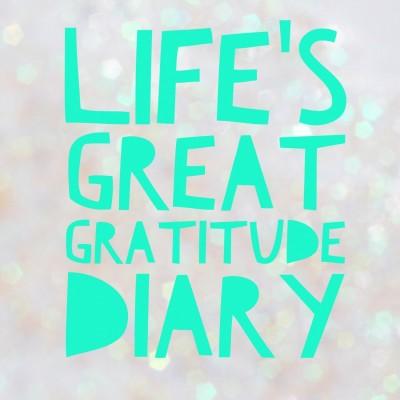 Lifes Great Teen Gratitude Diary
