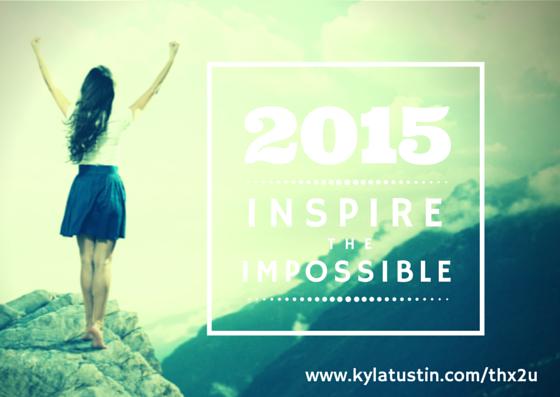 2015 TKX2U Gratitude Challenge